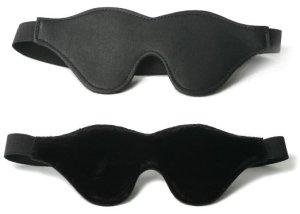 leather blindfold
