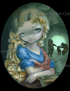 Goldilocks painting by Jasmine Beckett-Griffith