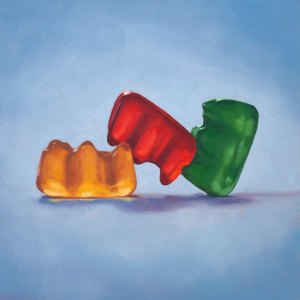Gummy Bear Threesome