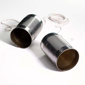 telephone cans