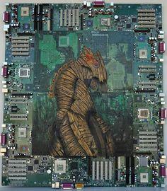 circuit board art 2