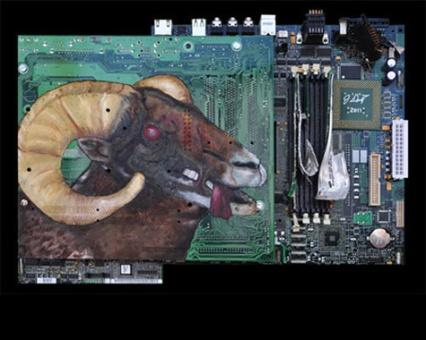 circuit board art